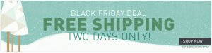 Nikken Black Friday Free Shipping Event